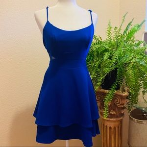 NEW Electric Blue Prom Dress SIze 13( junior
